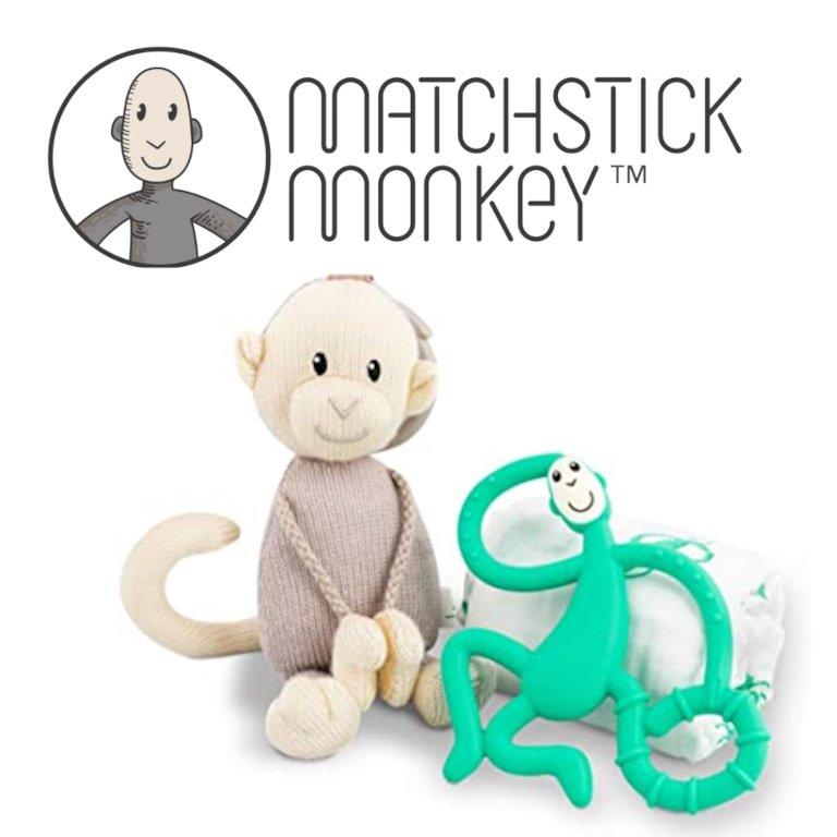Matchstick Monkey Teeting Gift Sething